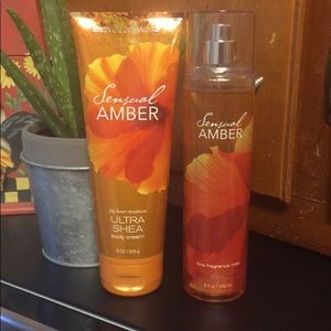 Bath & Body works Sensual Amber 🍂🍃🍁